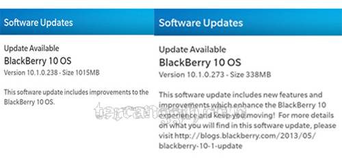 OS Blackberry 10.1