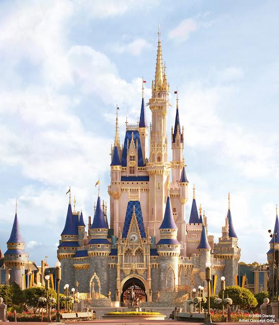 神奇王國「灰姑娘城堡」將於2020年進行華麗「粉飾」, Cinderella Castle to Receive Royal Makeover at Magic Kingdom Park in this year!, Walt Disney World, WDW