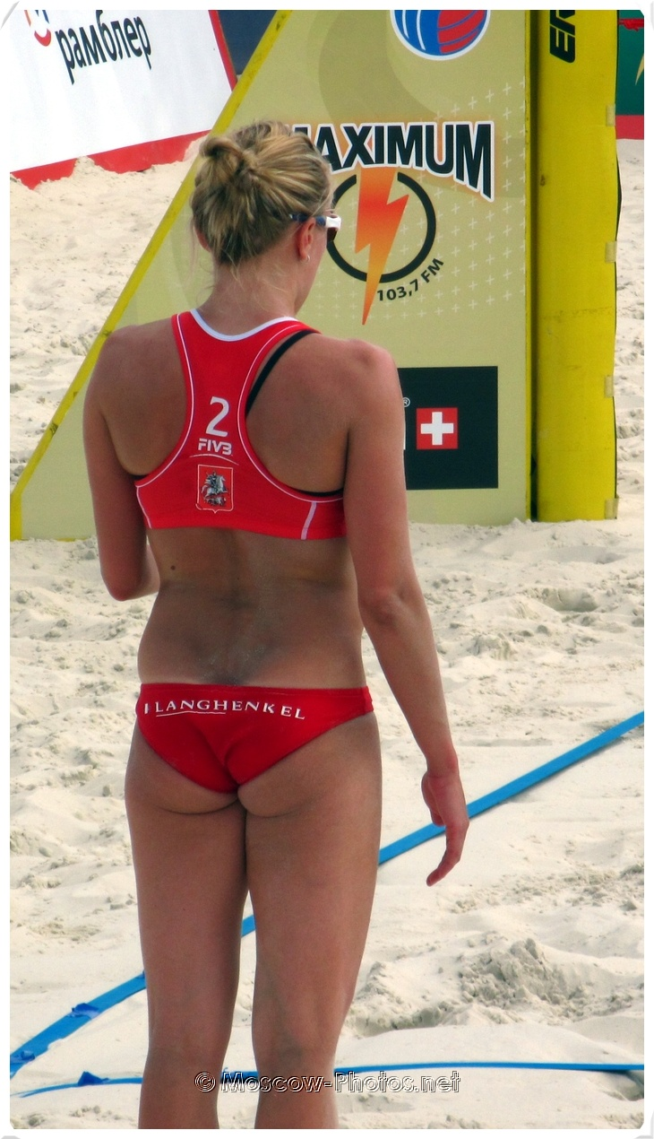 Dutch Beach Volley Player Marloes Wesselink