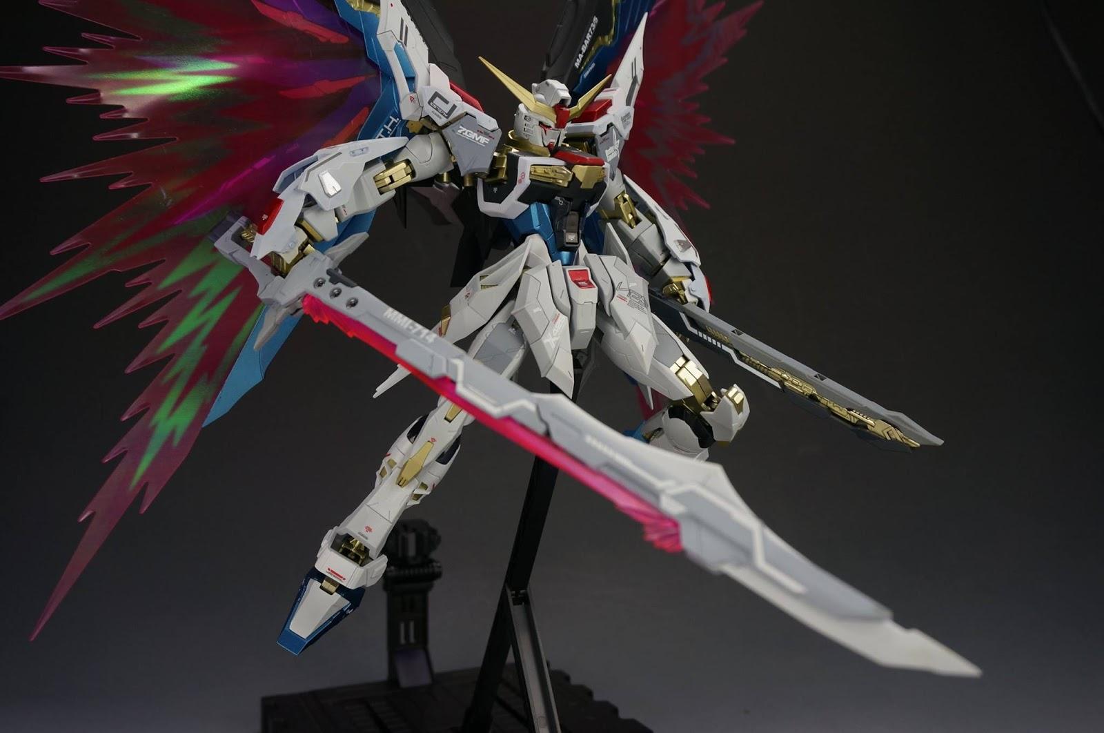 Metal Build Destiny Gundam Color Guide