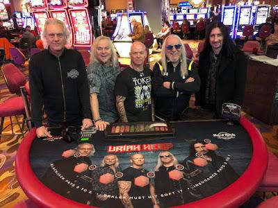 Resultado de imagem para Uriah Heep lançará novo álbum em setembro