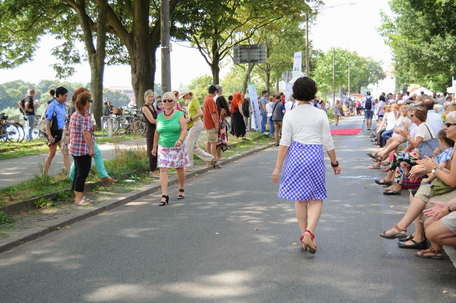 Modenschau (Fashion Show) by La Pasarela, Breminale 2014