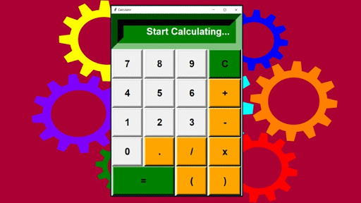 Python 3: Building amazing Calculator and other GUI projects