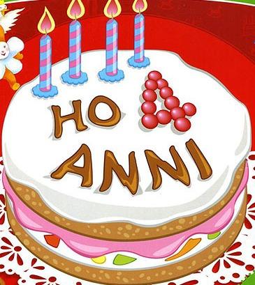 Auguri Buon Compleanno 49 Anni.Auguri Compleanno Quattro Anni