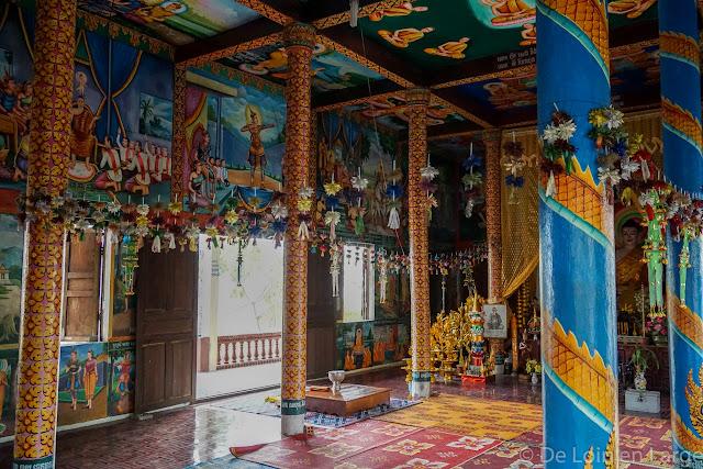 Phnom Sampeau - Campagne de Battambang - Cambodge