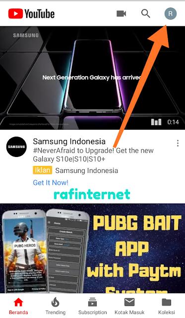 cara melihat trending youtube di negara lain di android