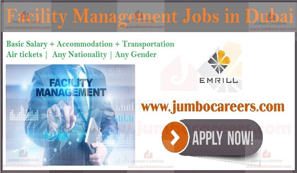 Eligibility Criteria for facility management jobs Dubai, Salary details of Dubai jobs,