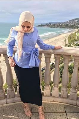 model hijab ke kantor gaya hijab ke kantor hijab segi empat ke kantor cara memakai hijab ke kantor
