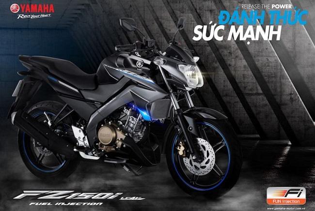 Yamaha FZ150i có phiên bản mới tại Việt Nam