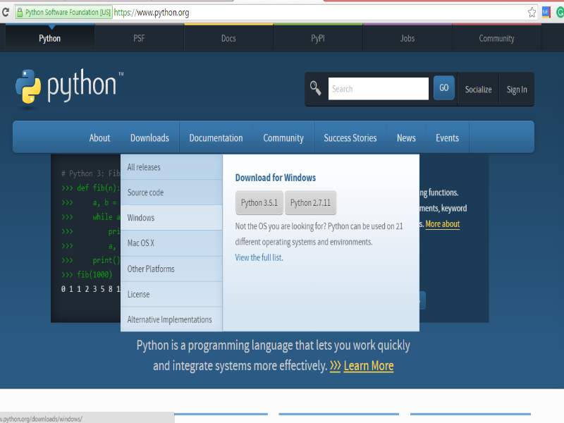 Introduction | Installation : Programming with Python
