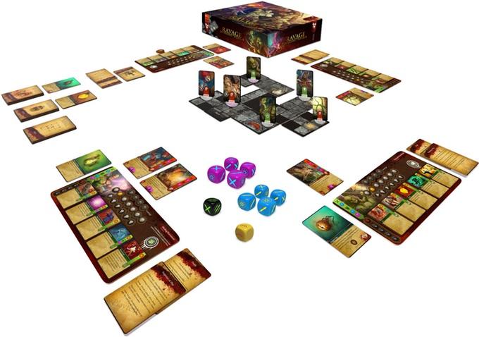 ravage dungeons of plunder setup