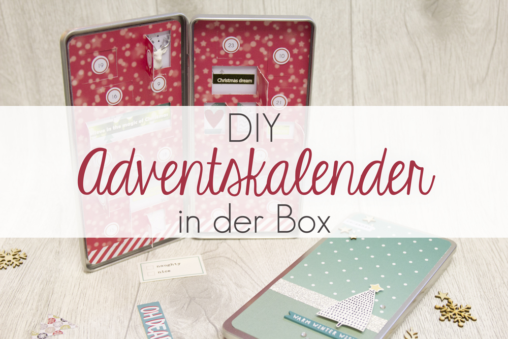 kreativs chtig diy adventskalender in der box. Black Bedroom Furniture Sets. Home Design Ideas