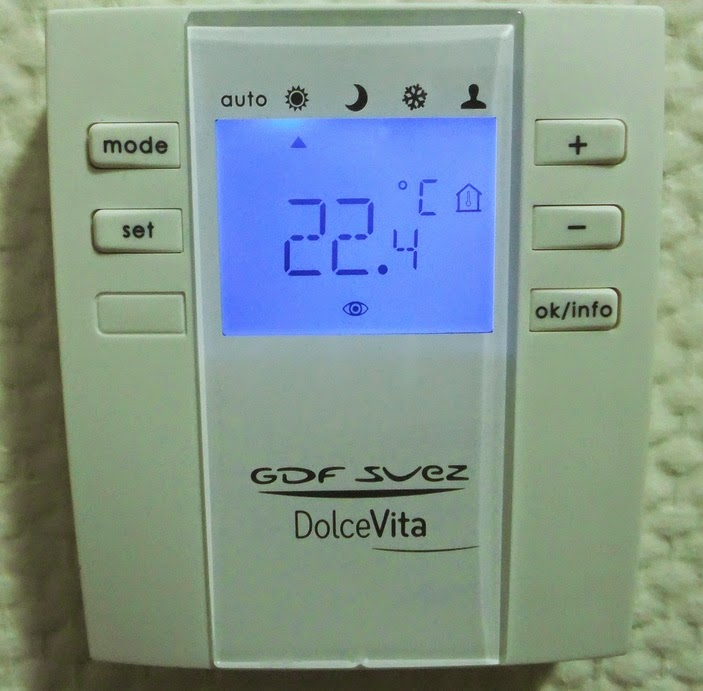 Thermostat connecté GDF DolceVita