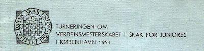 II Campeonato Mundial Juvenil de Ajedrez (Copenhague, 1953)
