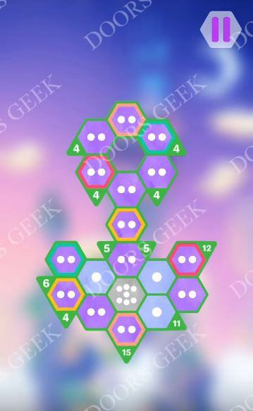 Hexologic Level 60 Solution, Cheats, Walkthrough for android, iphone and PC Steam