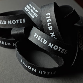 Rubber bands by Field Notes