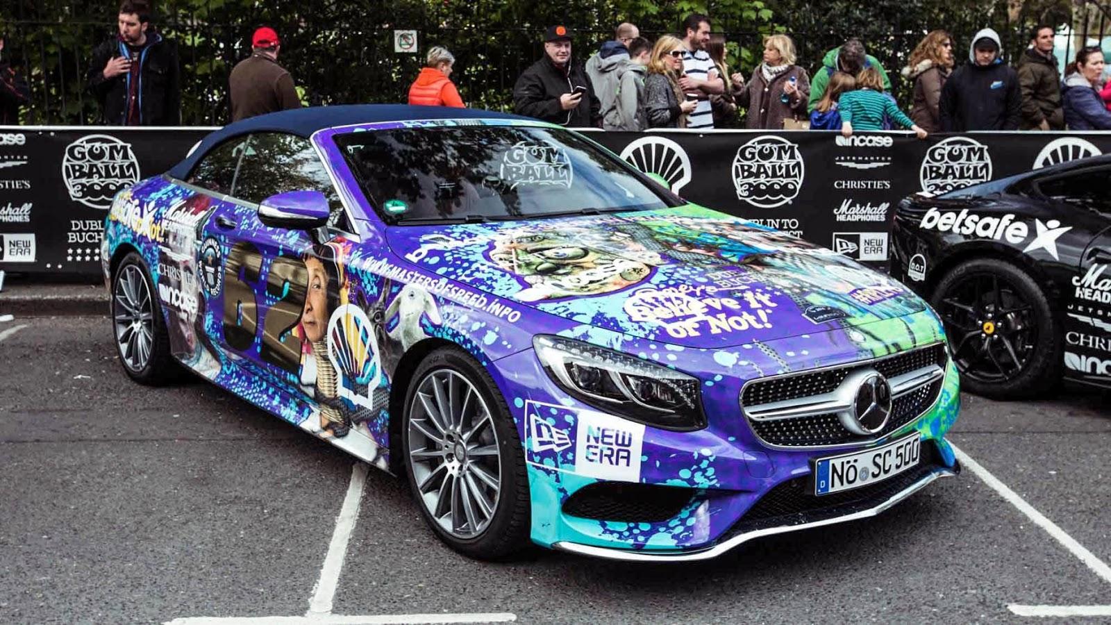 Mãn nhãn với dàn siêu xe kỳ lạ tại Gumball 2016