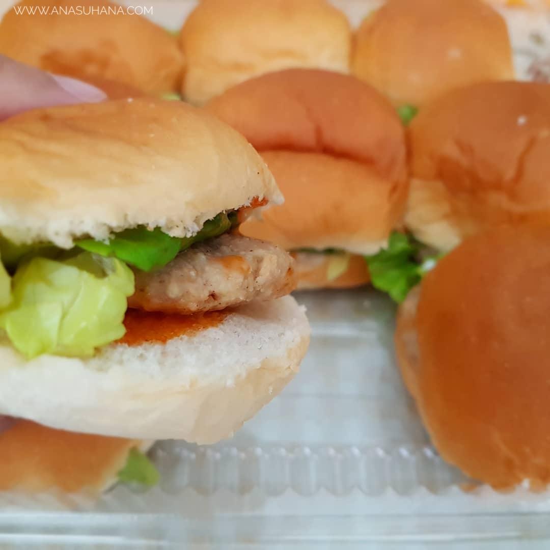 Dizan's Mini Burger | Kecik Tapi Padu