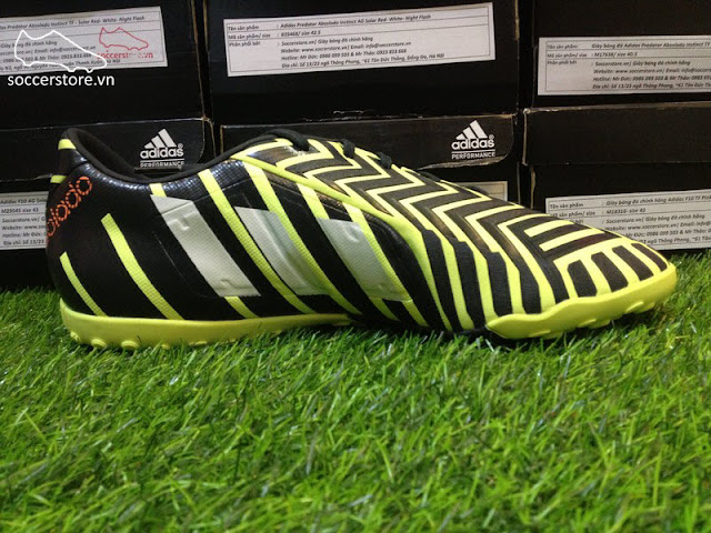 Adidas Predator Absolado Instinct TF Light Flash Yellow- White- Dark Grey