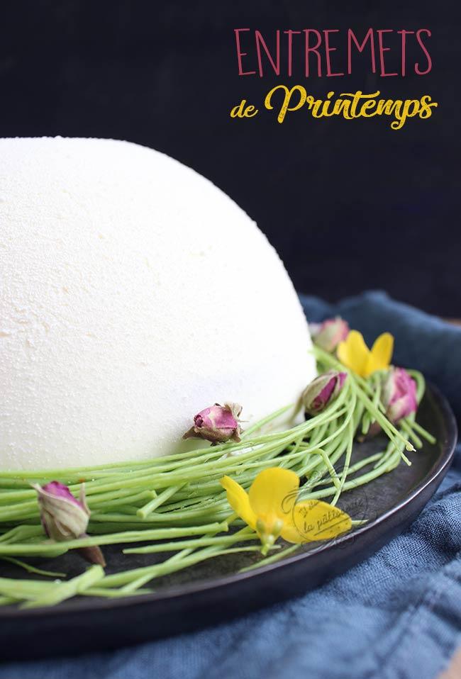 recette gateau demie sphère