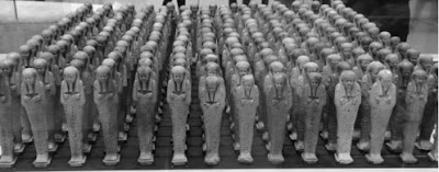 Egyptian ushabti servants