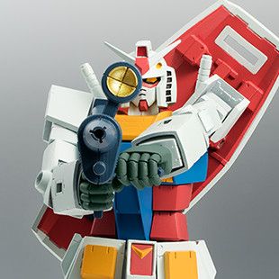 "Robot Spirits SIDE MS RX-78-2 Gundam (ガンダム ) ver. A.N.I.M.E ""First Touch 2500"""