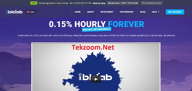 [SCAM] Review BtcLab - Lãi 0.15% hằng giờ [3.6% hằng ngày] - Đầu tư tối thiểu 0.001 BTC - Thanh toán tức thì - Hoàn vốn đầu tư
