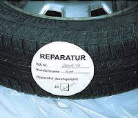 Aufkleber für Reifenetikettierung