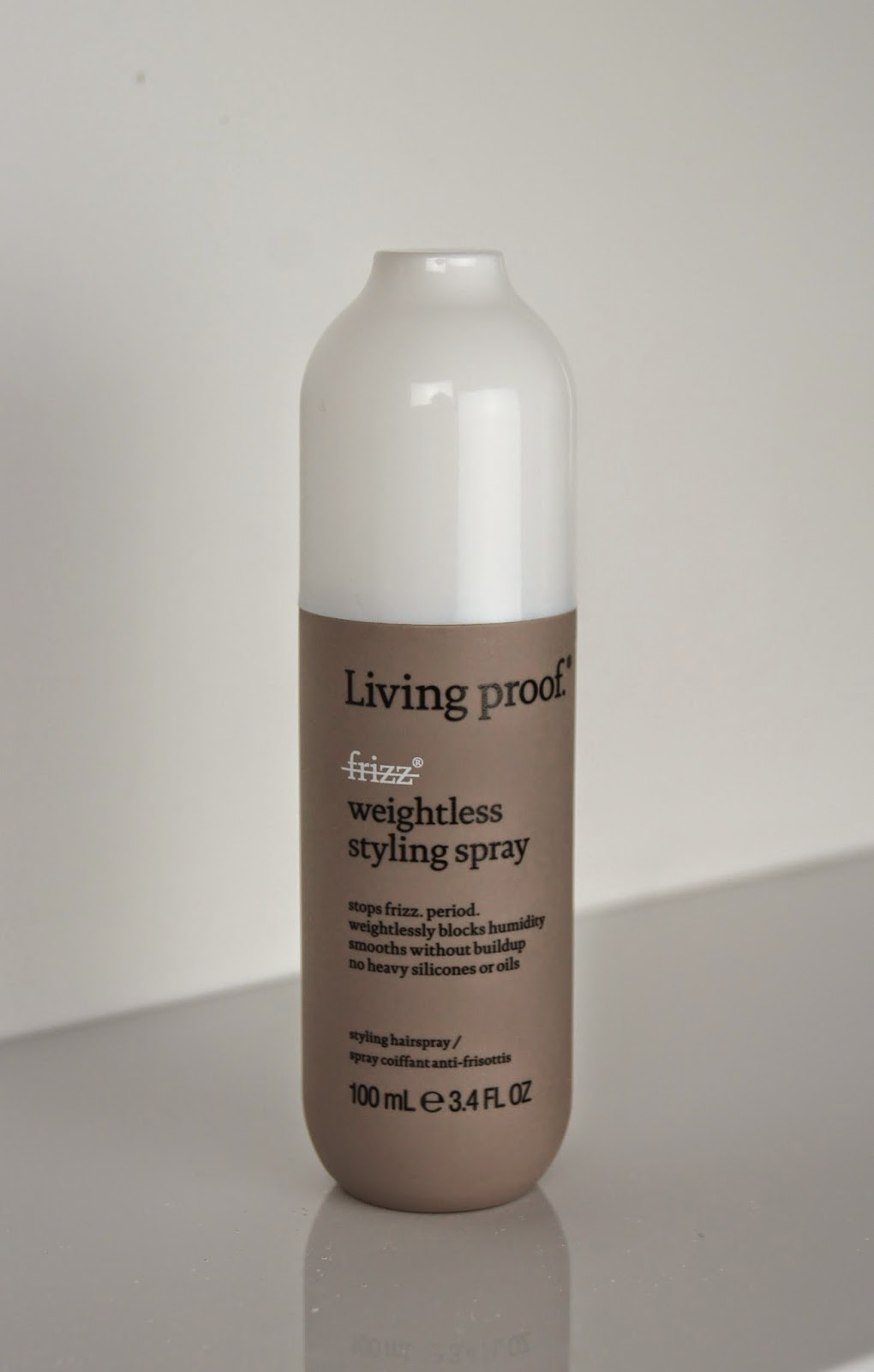 living proof no frizz weightless styling spray review