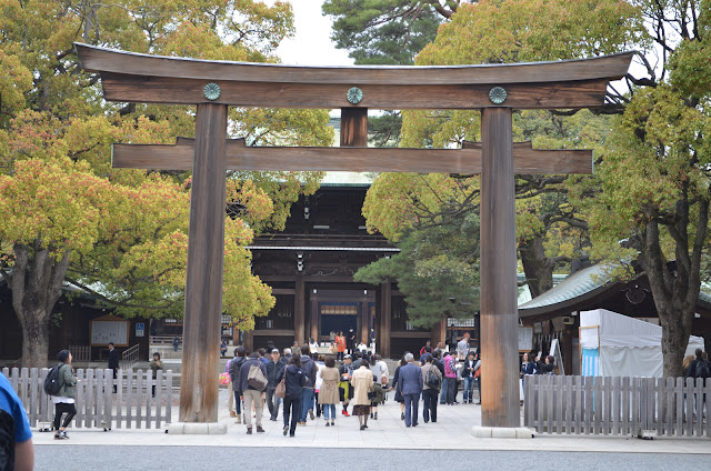Entrance to the main shrine, Meiji Jingu