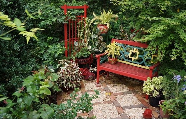 bahçe dekorasyonu 1