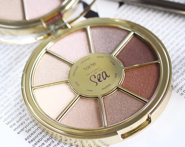 Tarte Rainforest of the Sea Eyeshadow Palette Review, Tarte Rainforest of the Sea, Tarte Eyeshadow, Tarte Eyeshadow Review, Tarte Eyeshadow Swatches