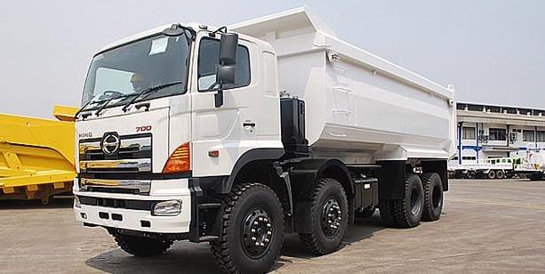 truk modifikasi hino lohan putih