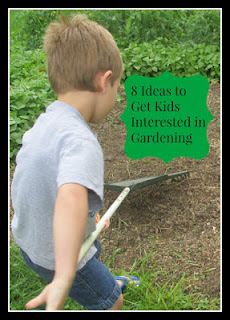 Country Fair Blog Party Blue Ribbon Winner: Vickie's Kitchen and Garden's 8 Ideas to Get Kids Interested in Gardening