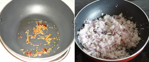 fried spices and onions