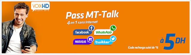عرض فايسبوك واتساب اتصالات المغرب