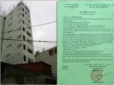 Chung cư mini xây dựng sai phép là trách nhiệm của chính quyền địa phương
