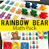 Rainbow Counting Bear Math Pack