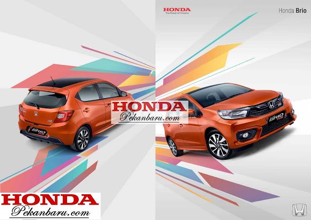 All New Honda Brio 2018 Pekanbaru Riau