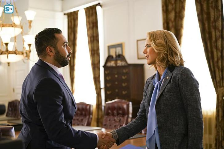 "Madam Secretary - Left of the Boom - Review: ""Ending with a bang"""