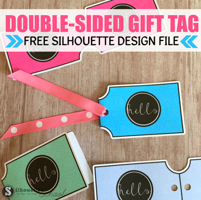 silhouette studio free designs, free silhouette studio cut files, gift tags