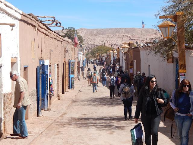 Calle Caracoles San Pedro de Atacama