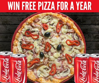 WIN Free Pizza For a Year Plus Instant Prizes