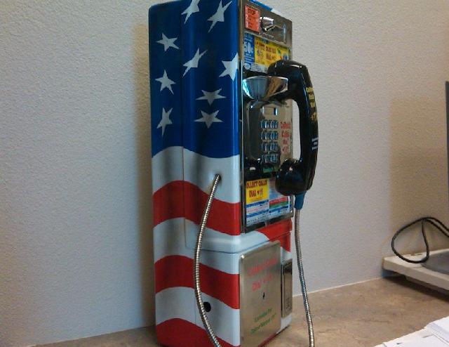 Telefones públicos em Las Vegas