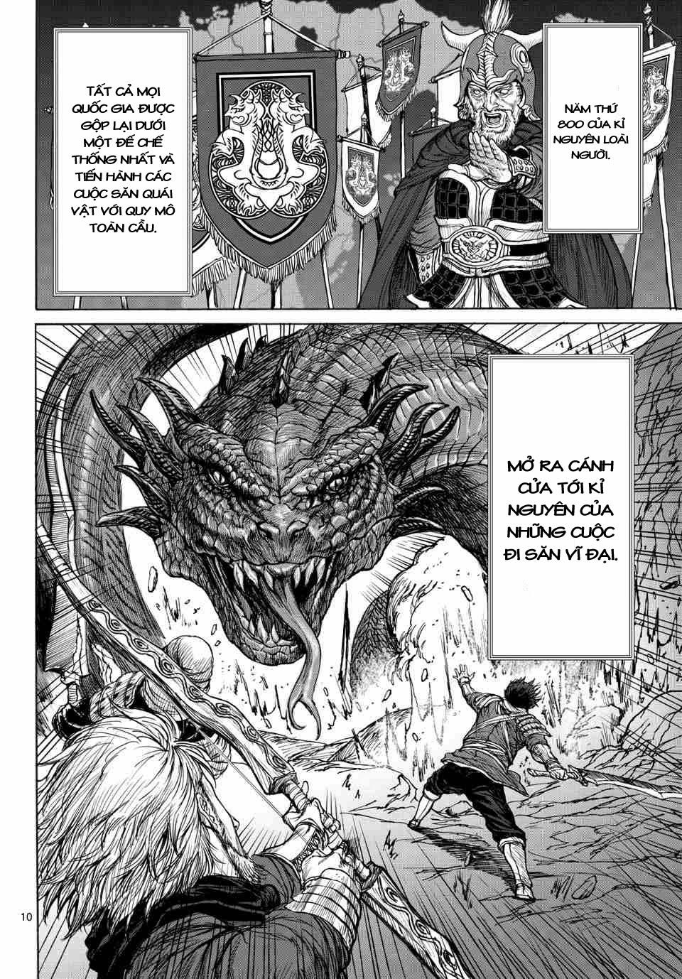 Monster X Monster chapter 1a trang 9