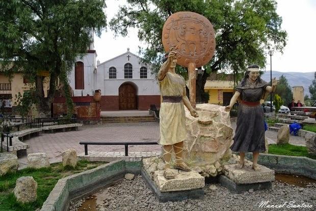 Huari, chiesa
