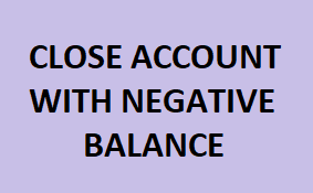 How To Close Canara Bank Account With Negative Balance Online