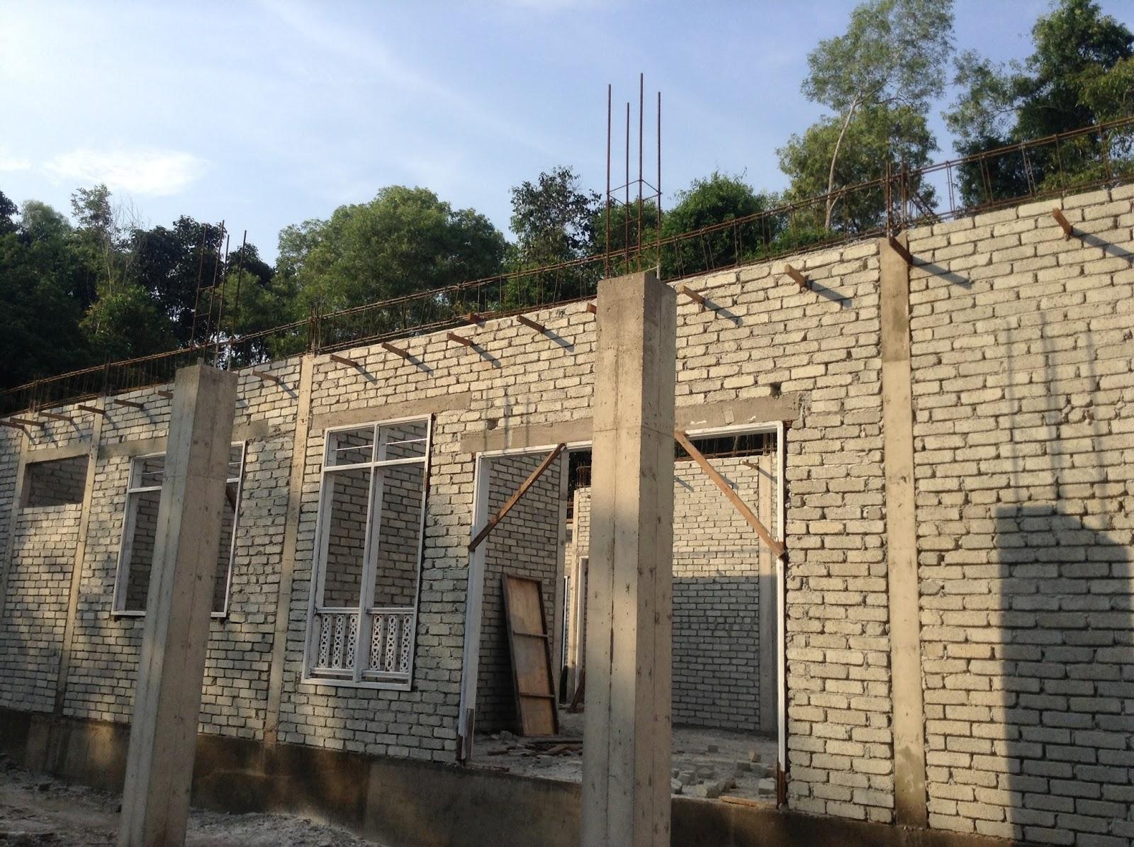 Membina Rumah Impian Kerja Kerja Membina Beam Atas Roof Beam