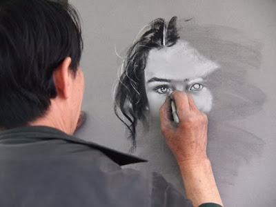 how to sketch + sketch artist +portrait artist