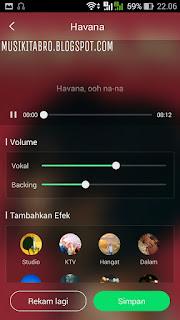 Cara karaoke menggunakan aplikasi musik JOOX